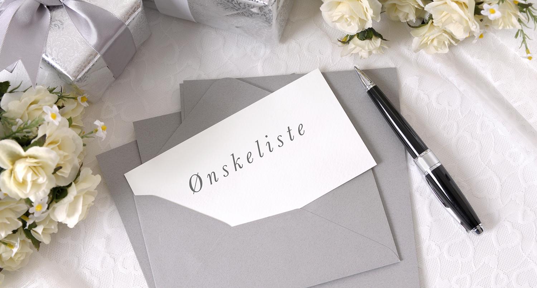 skriv ønskeliste