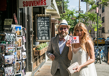 Bryllup i New York - Linda og Kim