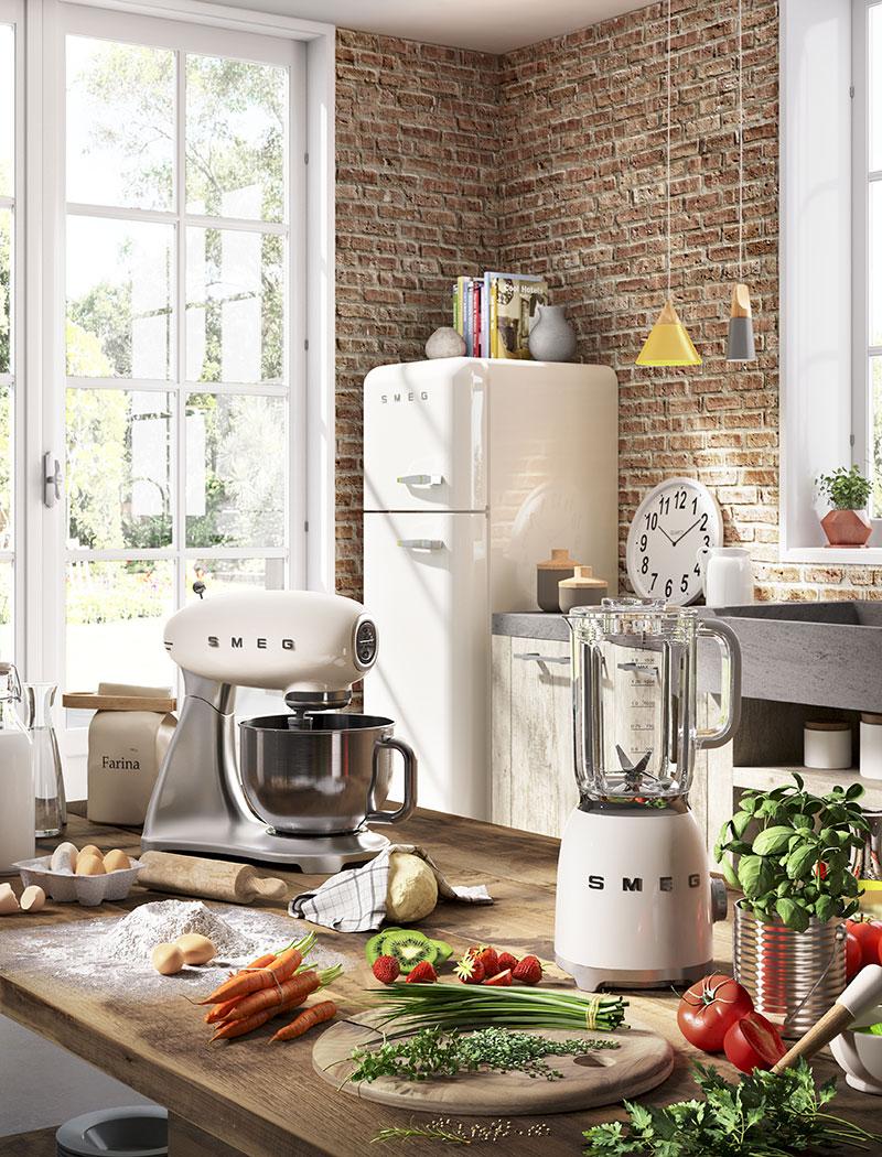 Smeg Kjøkkenmaskin og blender