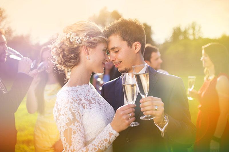 bryllup - brudeskål
