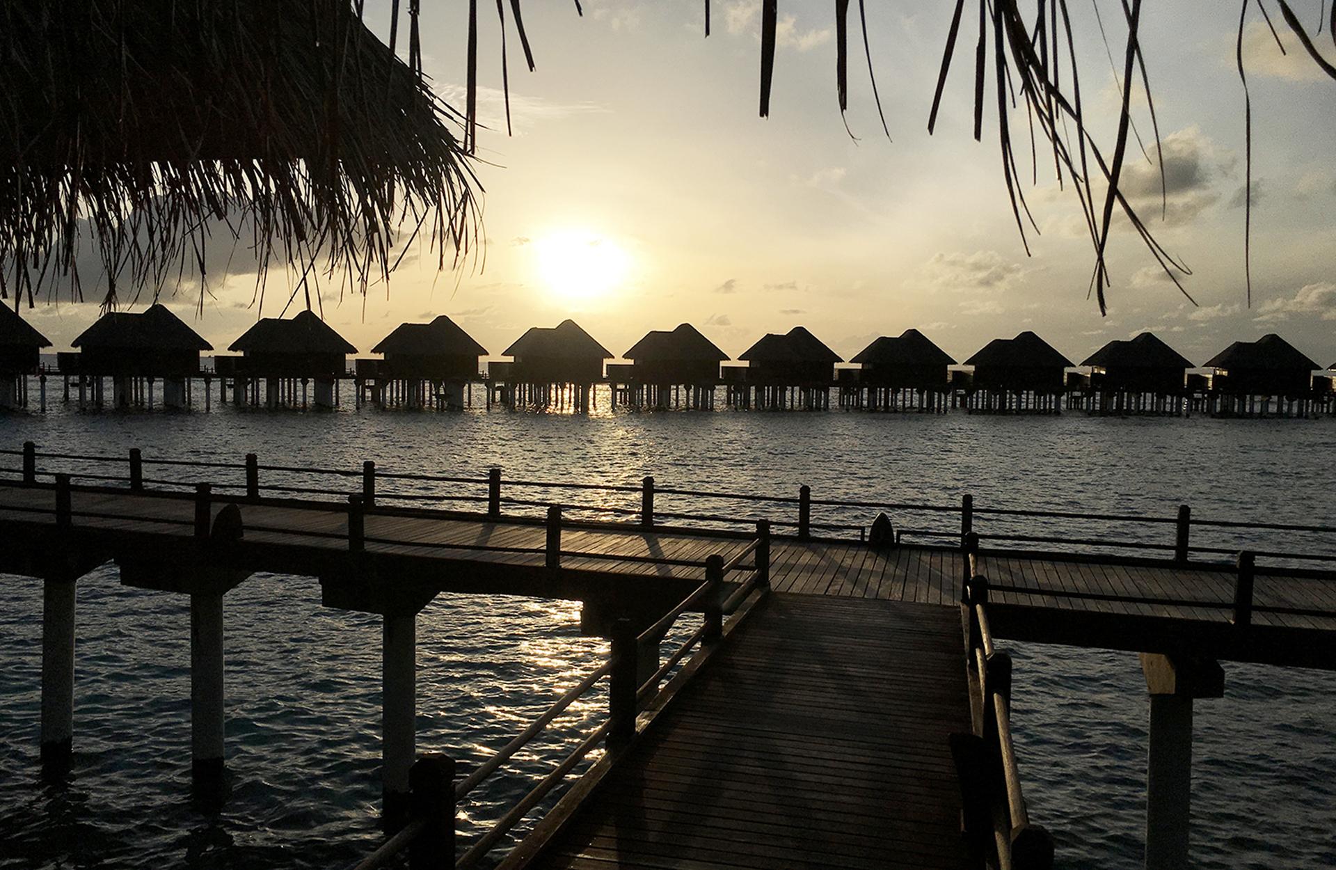 Bryllupsreise på Maldivene