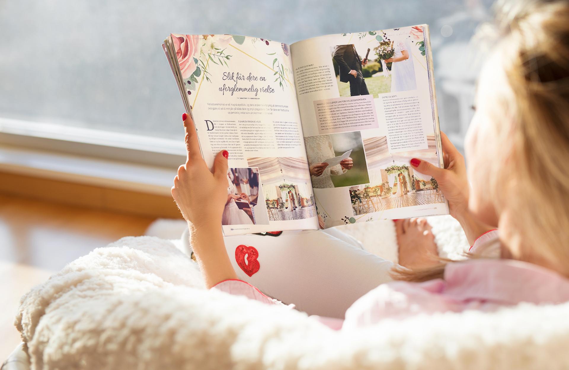Leser bryllupsmagasinet