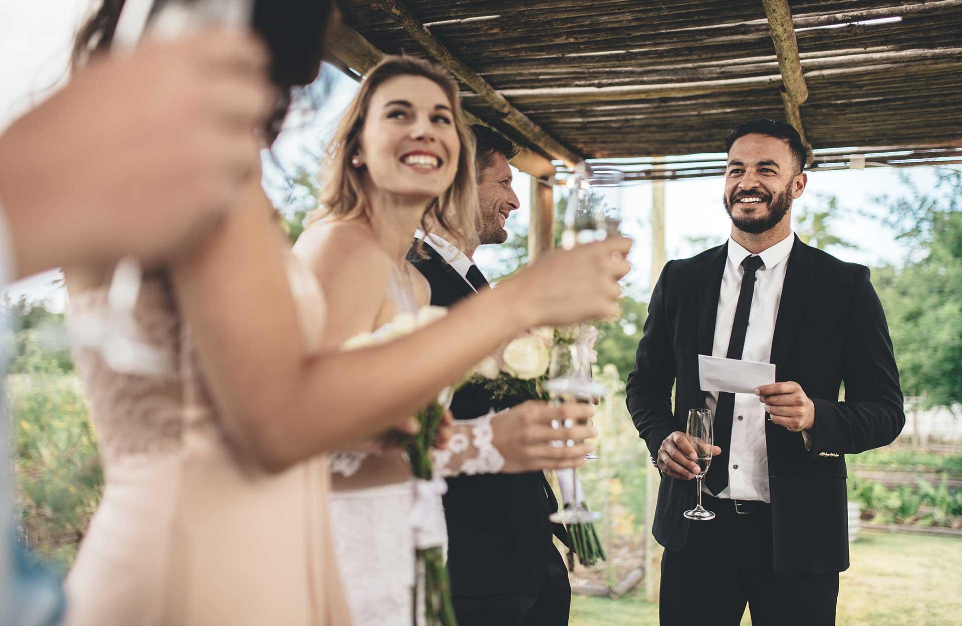 Bryllupsfest toastmaster bryllupsgjester