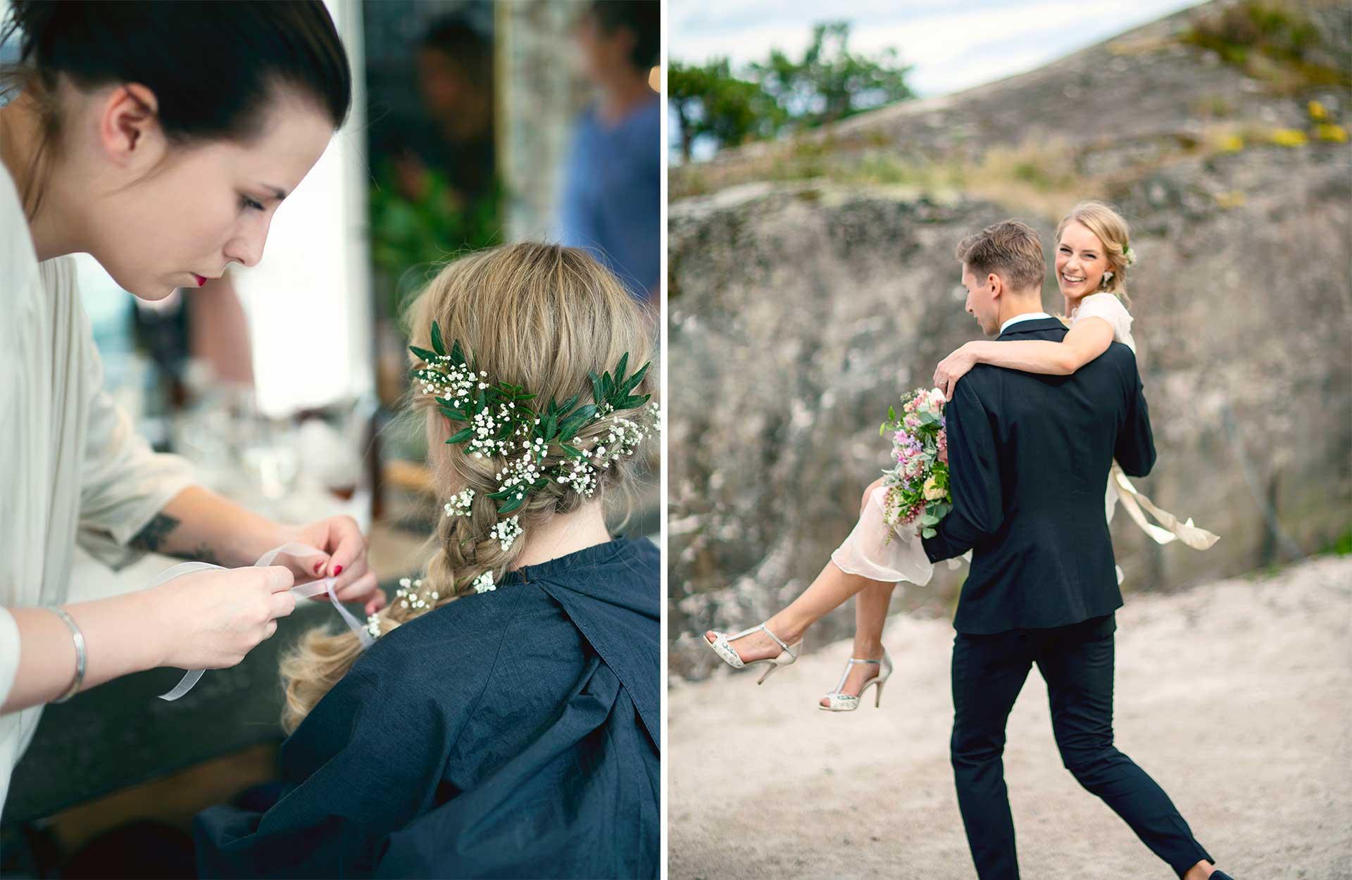 Vårt bryllup: Katrine & Anders, foto: Bølgen og Wad