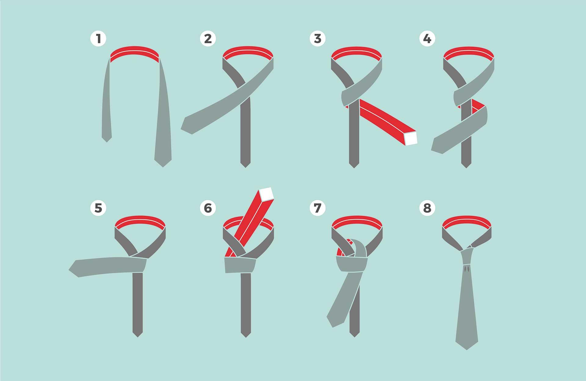 Knyte slips - instruksjoner