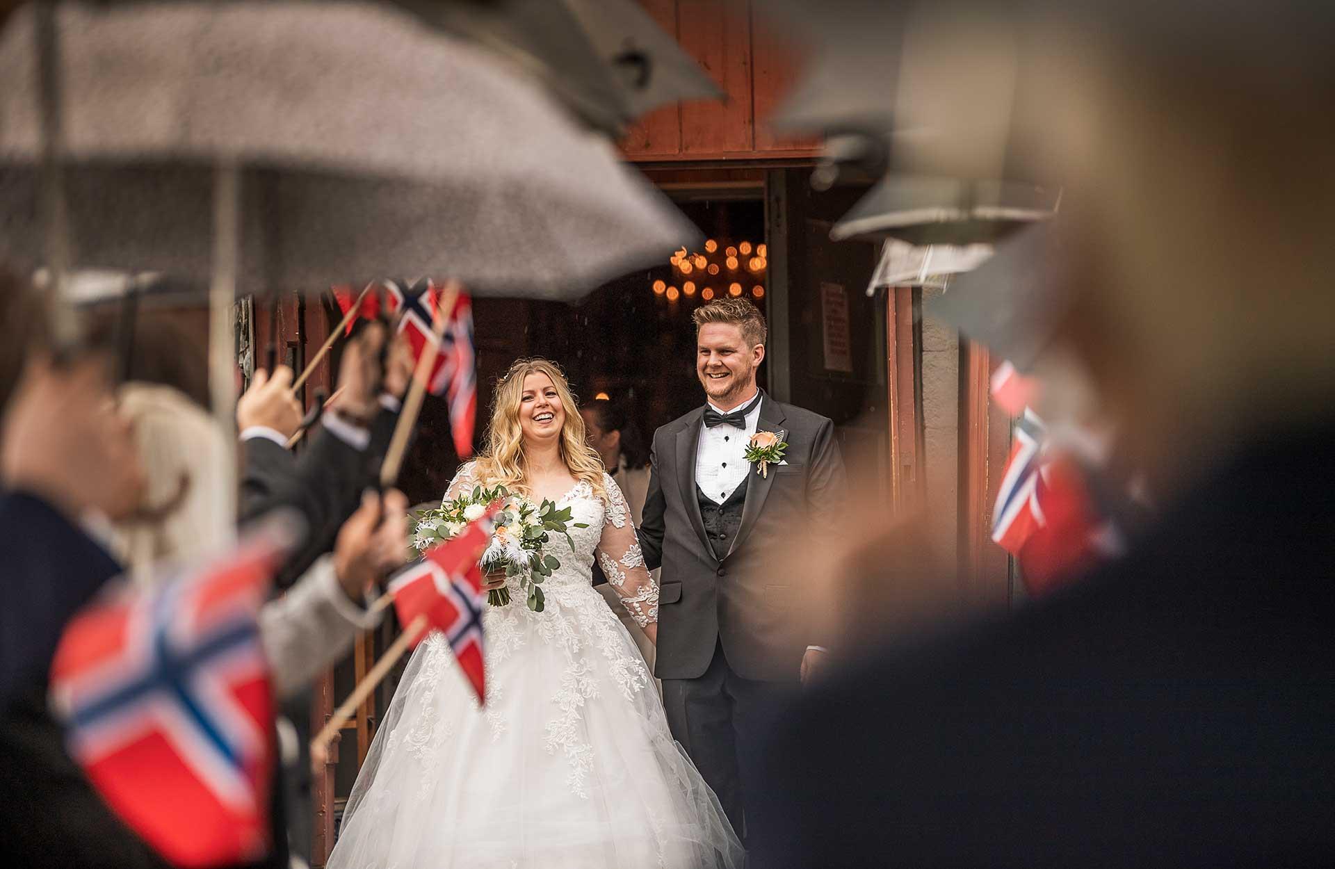 Bryllup Mari & Mats Ulrik - Foto: BT Stokke